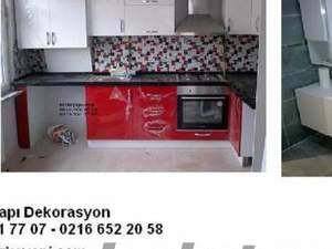 kapı dolap boya parke mutfak banyo tadilat işlerinde size uygun koşullar BERKE T
