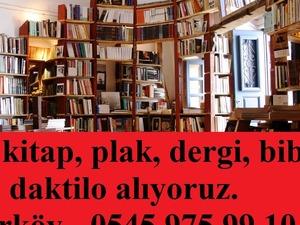 İstanbulda kitap dergi plak pikap kartpostal ikinci el alınır