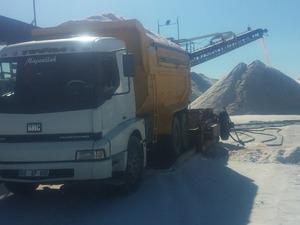 Aksaray ve civagrı damperli 10 teker kamyonlar