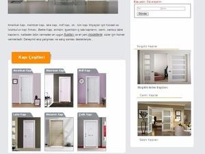 Ucuz hazır kapılar montaj dahil 650tl berke kapı da