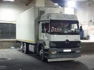 soğutuculu kamyon ve kamyonet
