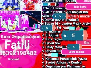 bayan dj kına gecesi organizasyon
