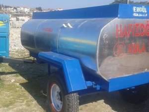 galvinizli 3 tonluk su tankeri