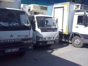 Kiralık kamyon kamyonetler
