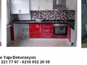 hem UCUZ hem SENETLE TAKSİTLE mutfak Tadilat Yenileme - İstanbul içi