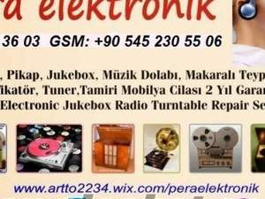 dual pikap jukebox tamircisi pikap müzik dolabı tamiri arto usta