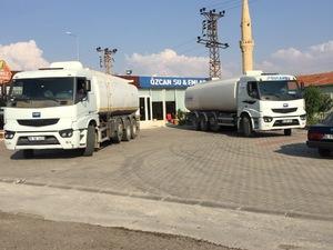 Özcan Su Tanker Su Taşımacılığı