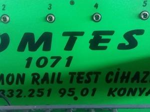 1071 komtest dizel araçların enjektör makinası