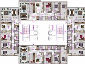 mimari proje çizimi 3 boyutlu görsel proje tasarımı
