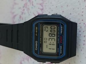 Casio F91w süper çokAZ kullanılmış saat