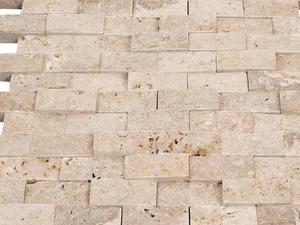 Doğal patlatma traverten mozaik taş