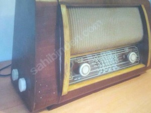 1952 dede yadigarı antika radyo