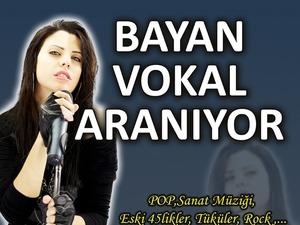 Ankara Bayan Solist Aranıyor