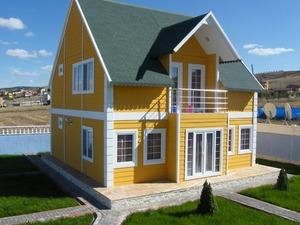 prefabrik ev Alcı OSB 100 m²