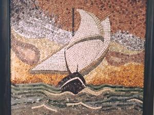 antik DOĞAL TAŞ MOZAİK KURSU