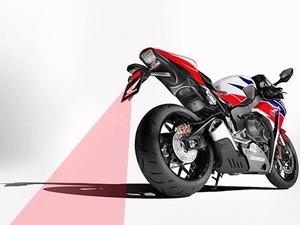 Motorsiklet ve Büyük Araç Arka Lazer Sis ikaz Lambası