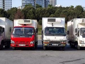 kiralık frigolu araç kamyon