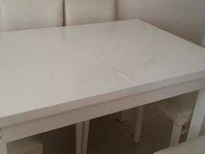 Satılık masa+7 sandalye