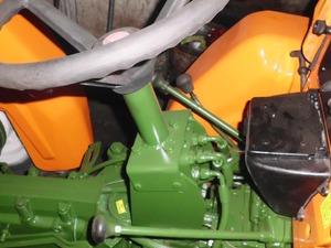 goldoni ferrari bahçe traktörlerine hirositatik direksiyon sistemi