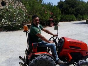 ufak, küçük, mini, bahçe traktörü