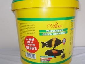 ahm marin tanganyika green granulat 3 kg hediyeli