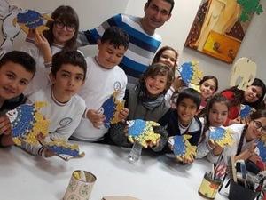 çocuklara mozaik kursu