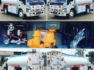gök-er otomotiv diyarbakır 2007 npr turbo tanker santrafiş sayaçlı