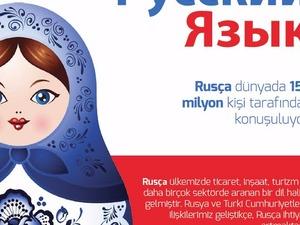 saati 30 liraya özel rusça verilir. kısa sürede mükemmel şekilde rusça konuşmayı öğretiriz