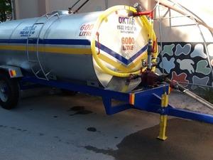 Yağmurlama Sistemli Su Pompalı Tanker 6 Tonluk 6000 Litre
