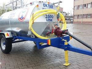 İtfaiye Arazöz Yol Yıkama Pompalı Su Tankeri 3.5 Tonluk