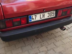 1993 model Tofaş Doğan SLX