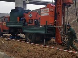 satılık md 300 tam hidrolik sondaj makinası (zemin etüd)