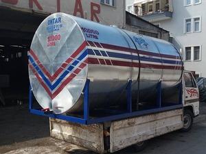 İçme Su Damla Sulama Deposu Paslanmaz 10 Ton 10000 Litre
