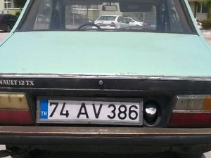 Bartın Merkez Merkez Renault R 12 TS