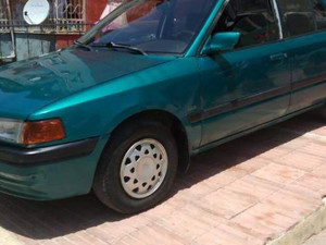 1997 model Mazda 323 GLX