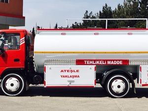 Satılık isuzu npr 2008 model 71 turbolu akaryakıt tankeri
