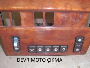 mersedes w 124 kılima kontrol paneli 8 tuş