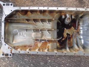 mersedes w 124 yağ karteri çıkma 111 motor.