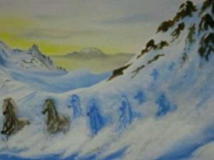Isteğinize özel el yapımı dekoratif duvar resimleri yapılır Ressam Barış YILDIZ