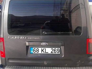 Camlı Van Ford Tourneo Connect 90PS