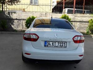 2013 46500 TL Renault Fluence 1.5 dCi Joy