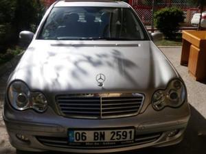 Ankara Çankaya Çiğdem Mah. Mercedes Benz 180