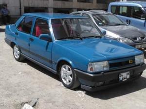 1991 yil Tofaş Şahin Şahin 5 Vites
