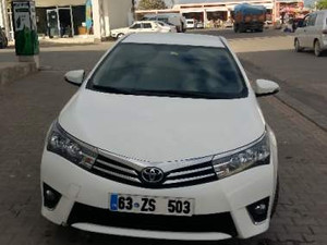1. sahibinden Toyota Corolla 1.33