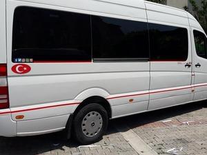 Türkkar dan kiralık şoförsüz minibüsler