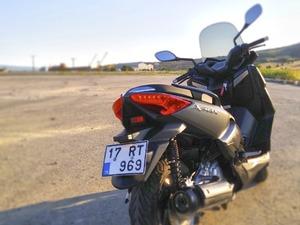 Yamaha xmax 250 ABS - Mat Gri - 2016
