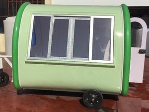 Çekme Karavan - Mobil Büfe - Polyester Hammadde Üretim