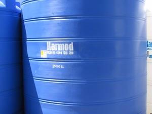 25 ton dikey mavi su tankı - istanbul içi ücretsiz sevk - karmod