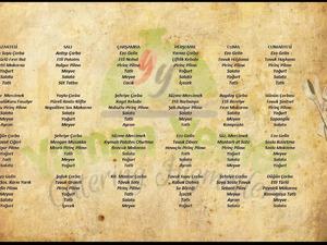 Tabldot catering hizmetleri