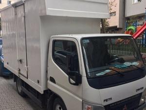 sahibinden kurumsal firmalara kiralık mitsubishi fuso kamyonet 2007 model 120.000 km